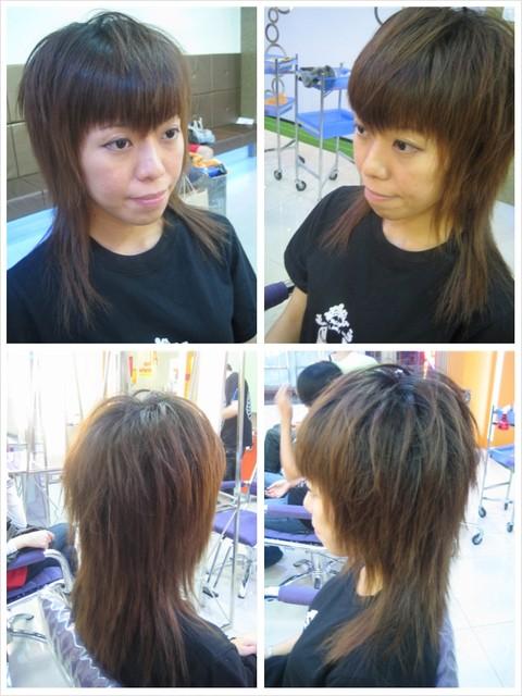 高层次发型结构图