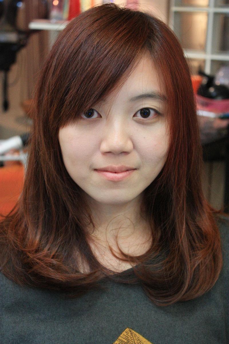 2013流行发型中长发