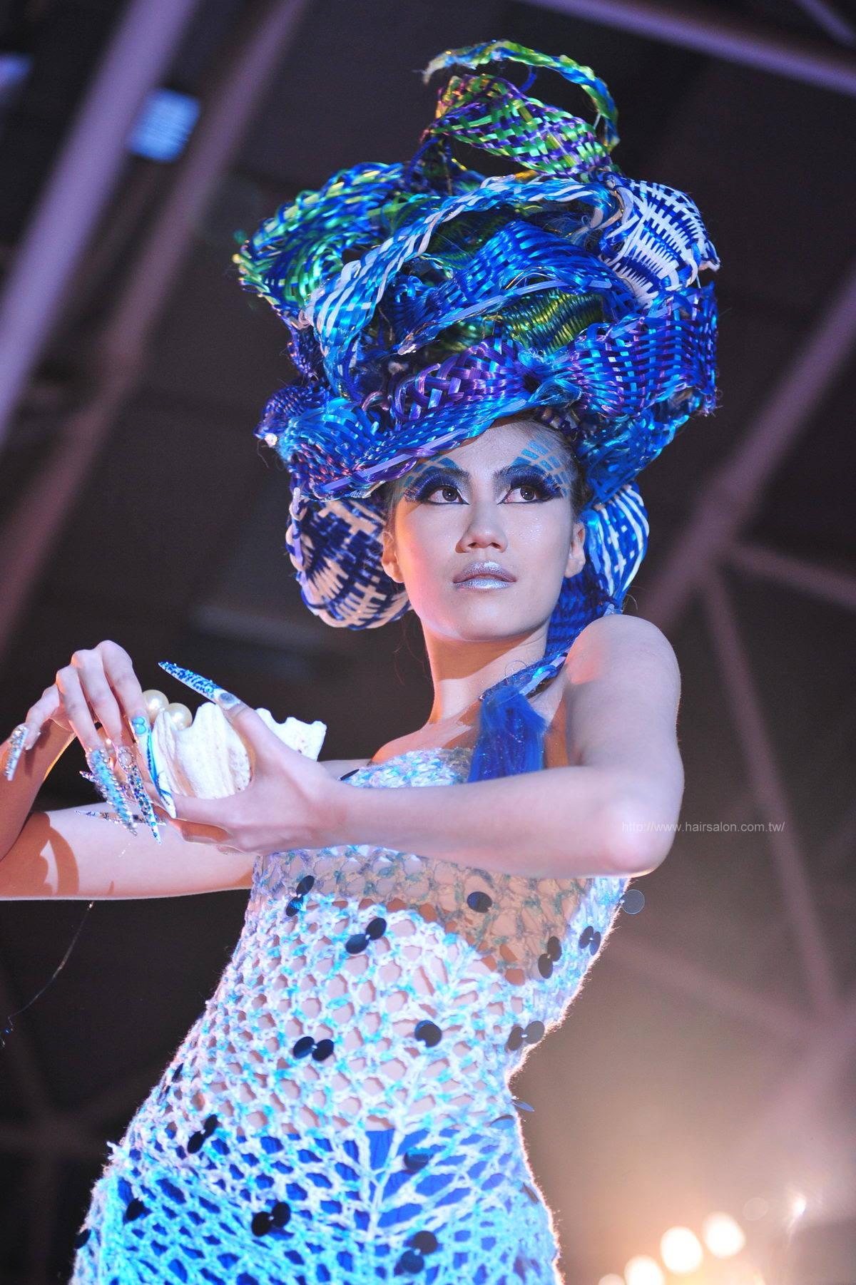 2013年快乐发型年度颁奖典礼暨36发艺竞赛-创作组 海洋嬉游