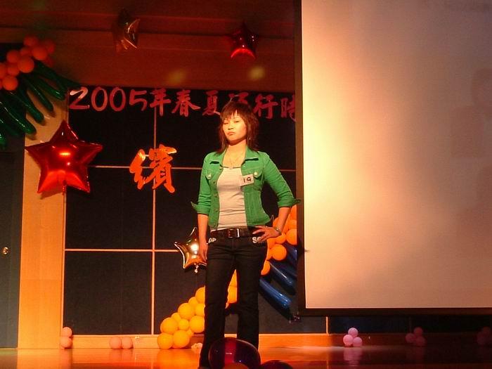 2005年威信团队春夏流行时尚发型观摩会-模特儿走秀